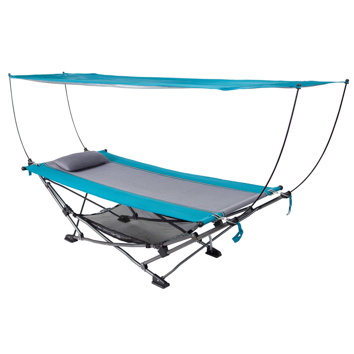 Camping bed costco - Folding Hammock With Removable Canopy