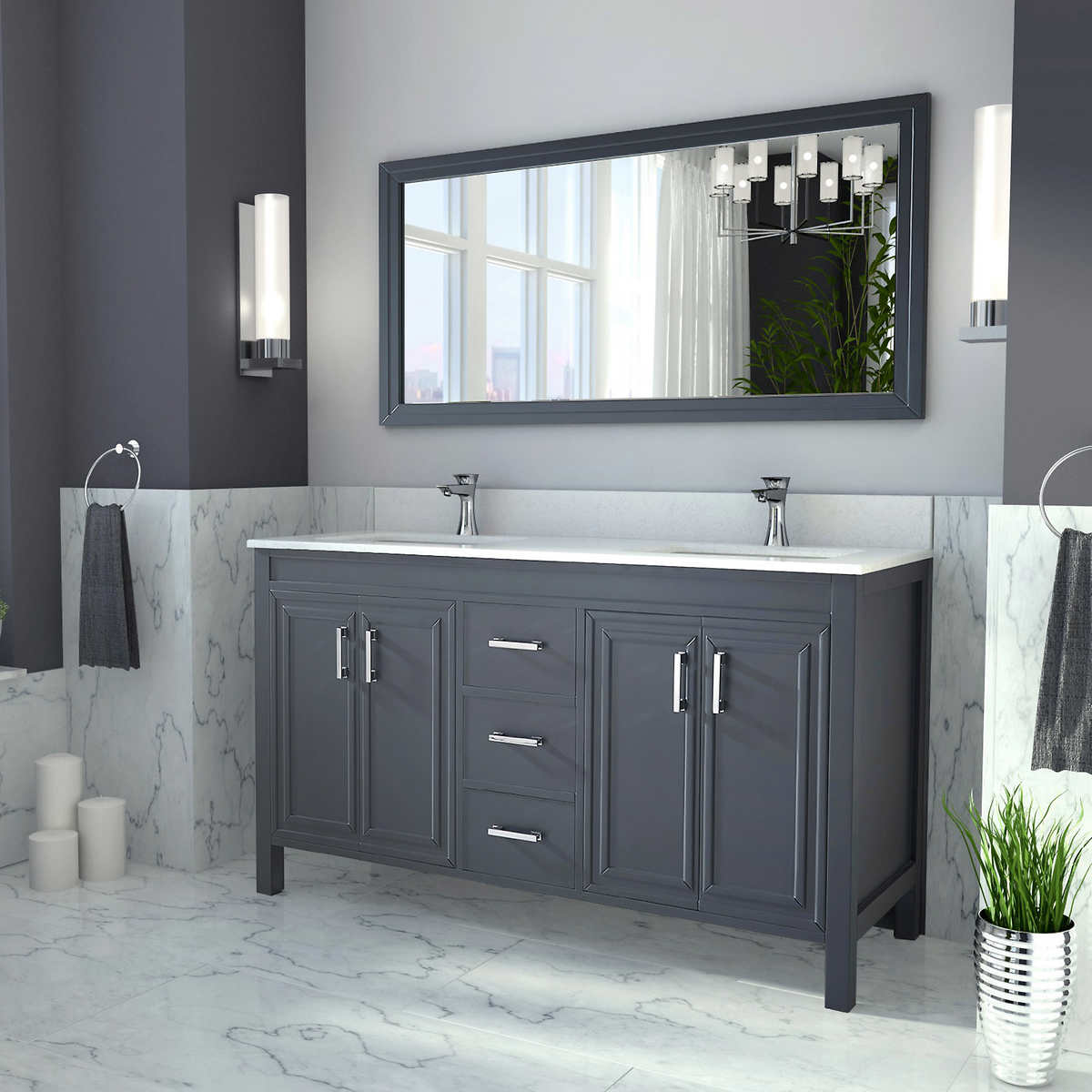 5 foot double vanity. Bathroom Double Sink Vanity double sink vanities  costco Pleasing 60 Decorating Inspiration Of