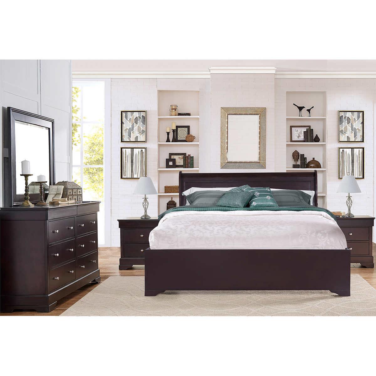 Carolyn 5 piece King Bedroom Set