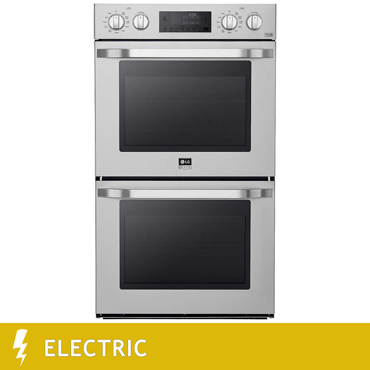 Uncategorized Kitchen Appliances 123 cooking appliances costco lg studio 30 9 4cuft total capacity double wall oven in stainless steel