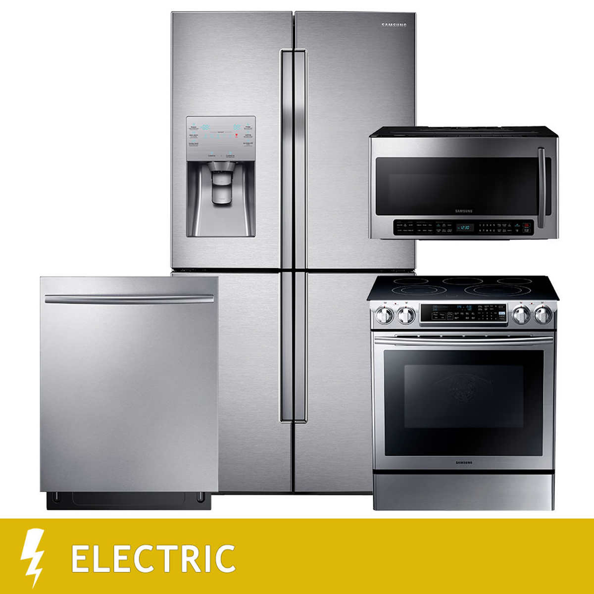 Uncategorized Kitchen Appliance Combos kitchen suites costco samsung 4 piece electric 23cuft counter depth door flex french refrigerator