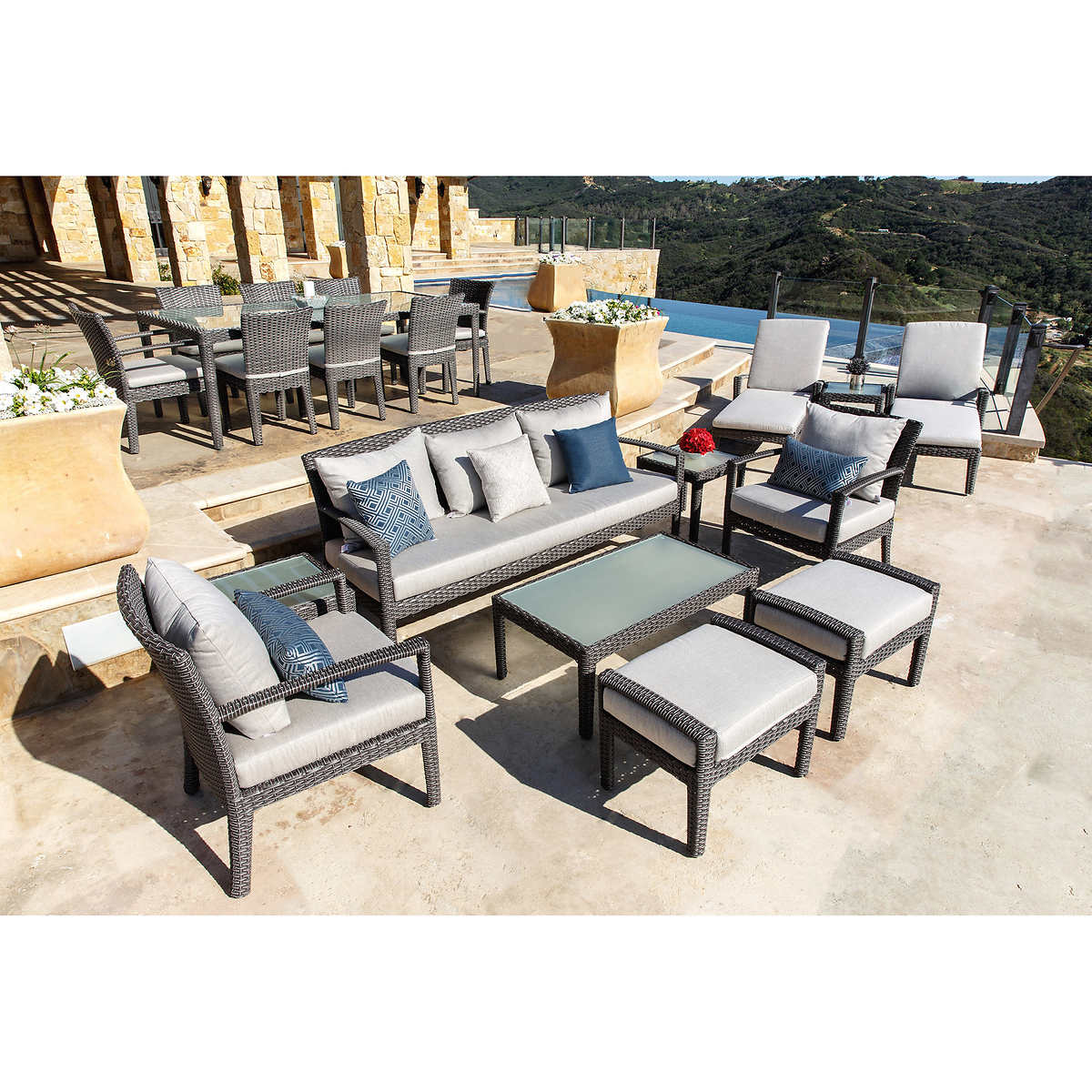 Garden furniture near me garden bar table and stools ci4s for Patio furniture near me