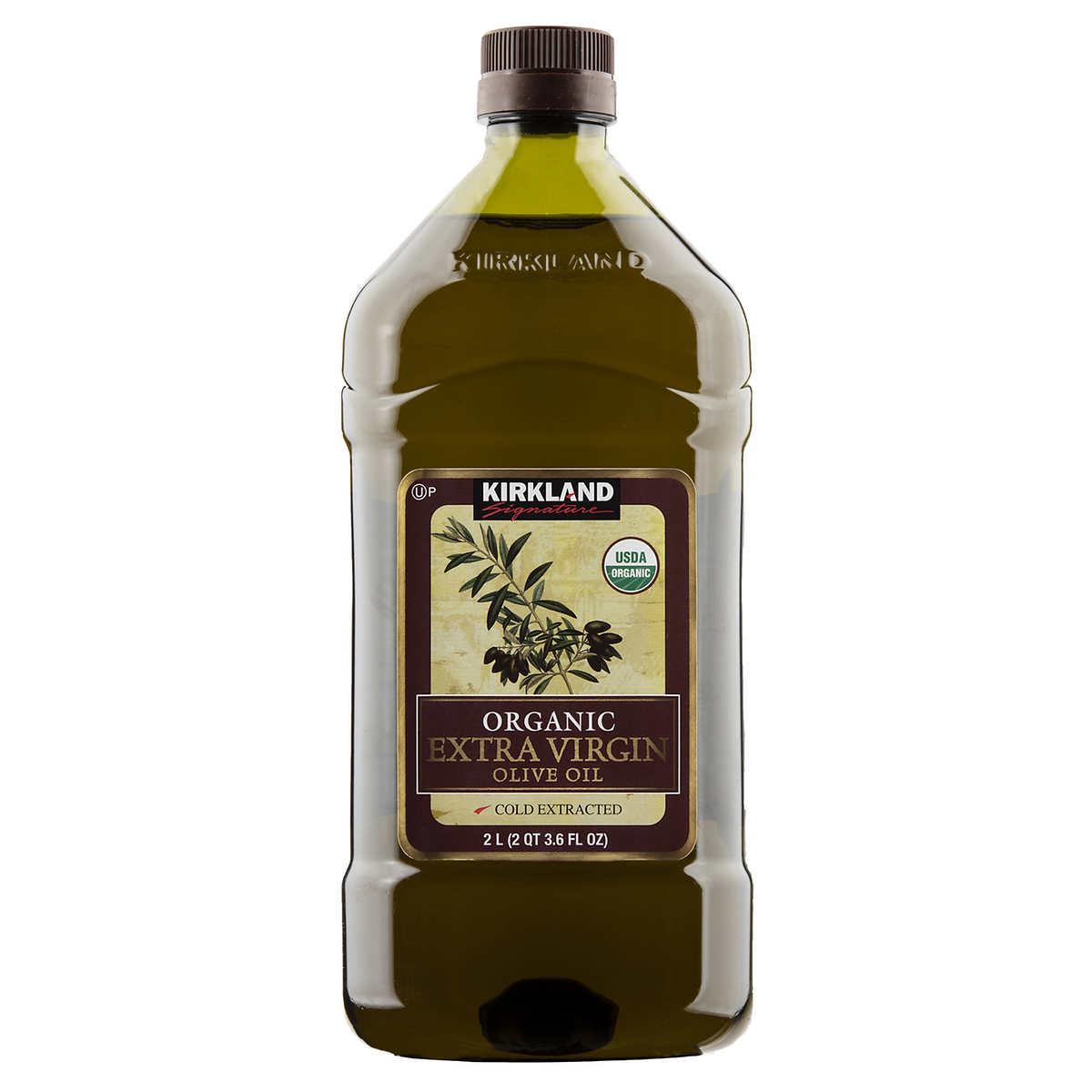 Kirkland Signature Organic Extra Virgin Olive Oil, 2 L