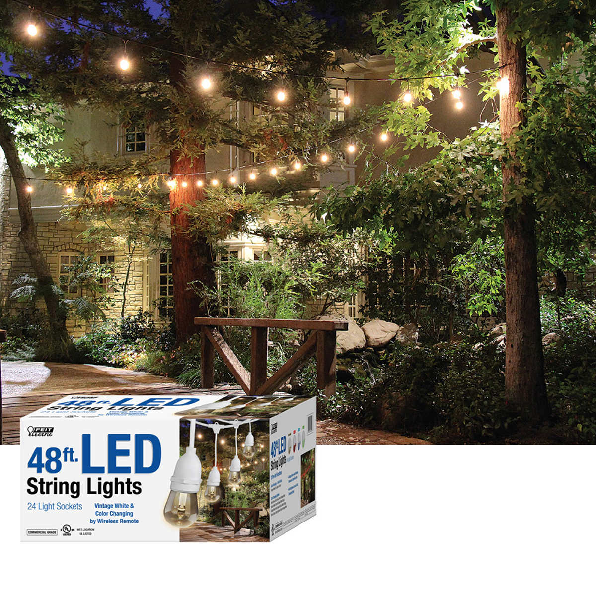 Feit electric outdoor string lights outdoor designs electric outdoor string lights designs aloadofball Images