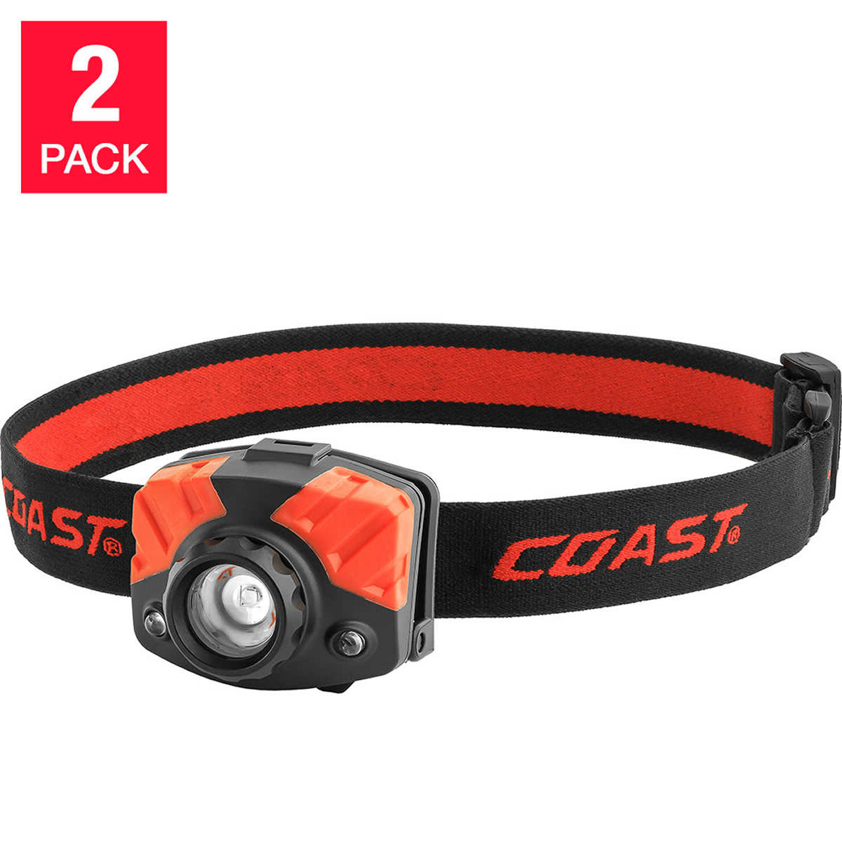 flashlights accessories coast fl72 headlamp 2 pack