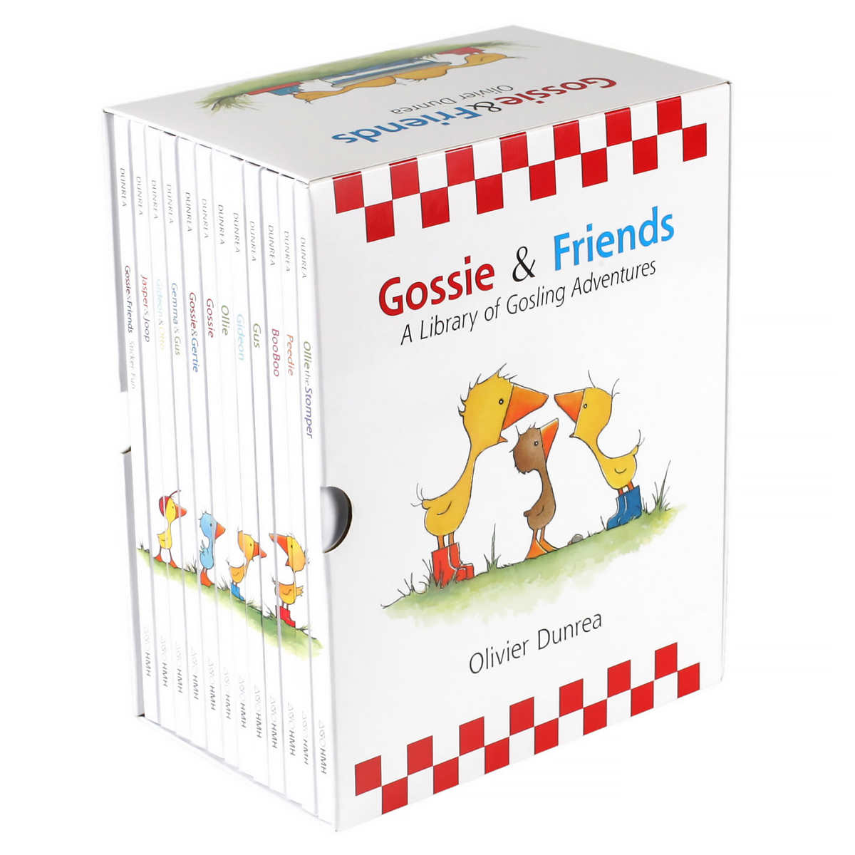 Coming Kids Olivier.Gossie And Friends Storybook Library 12 Book Box Set By Olivier Dunrea