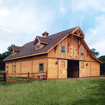 Barn Pros Post Frame Barn Kit Buildings