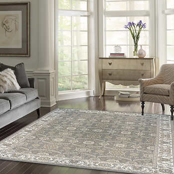 Thomasville Marketplace Hi Density Rug Collection Adona Gray