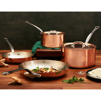 Mauviel M Heritage Copper With Stainless Steel Interior