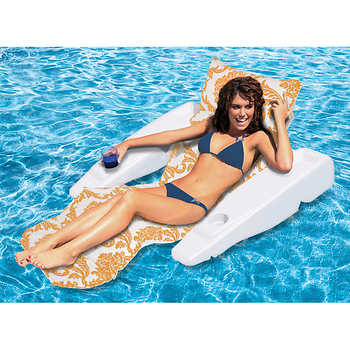 Poolmaster Royal Hawaiian Adjustable Floating Chaise Lounge