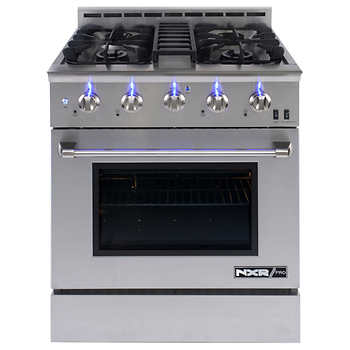 Nxr Pro 30 Quot Professional Style Gas Range In Stainless