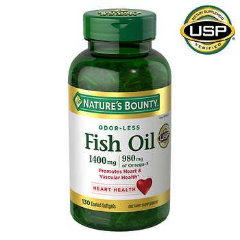 Nature S Bounty Fish Oil  Costco