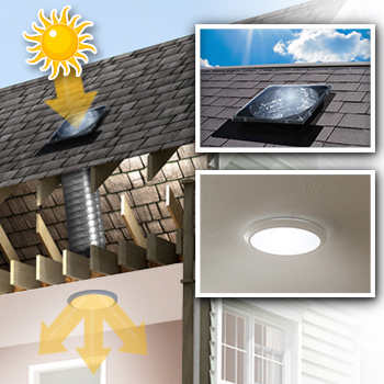 14 Spectrum Skylight Tube Patented Ventilation Option