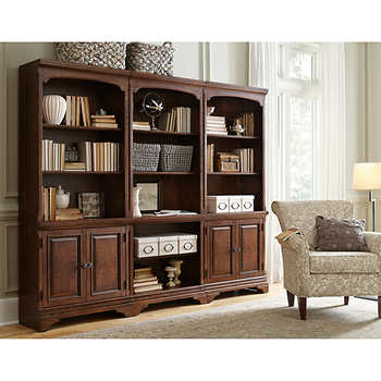 Lewis 3 Pc Bookcase Wall