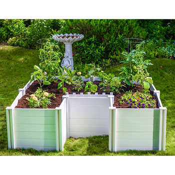 Keyhole 6 Ft X 6 Ft Composting Garden Bed