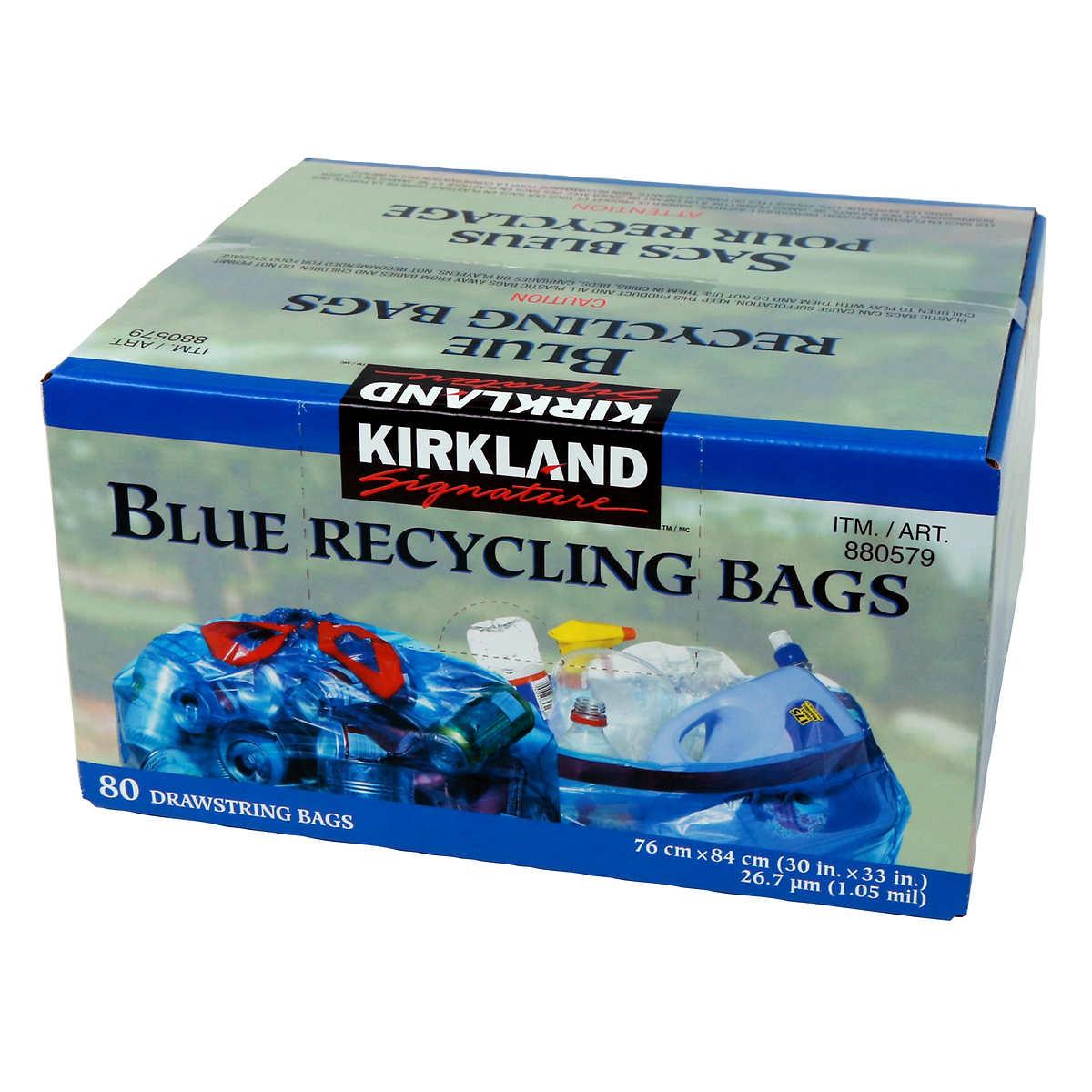 Kirkland 13 Gallon Garbage Bags.Kirkland Signature Flex Tech 13 ...