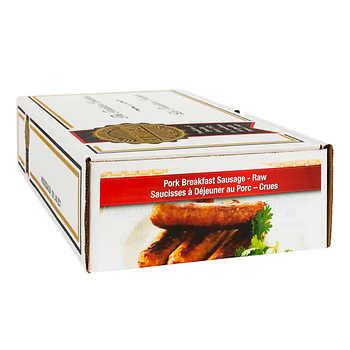 European Quality Meats Pork Breakfast Sausage, 4.54 kg