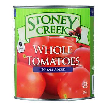 Stoney Creek Whole Peeled Tomatoes, 6 × 2.84 L