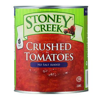 Stoney Creek Crushed Tomatoes, 6 × 2.84 L