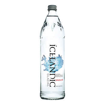 Icelandic Glacial Carbonated Water, 12 × 750 mL