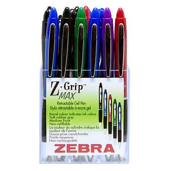 Z-Grip Max Gel Retractable Pen, Pack of 20