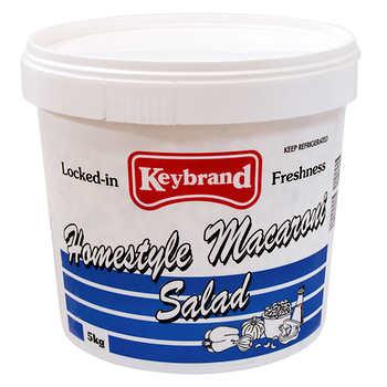 Keybrand Homestyle Macaroni Salad, 5 kg