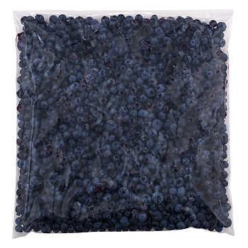 Below Zero Wild Blueberries, 5 × 1 kg