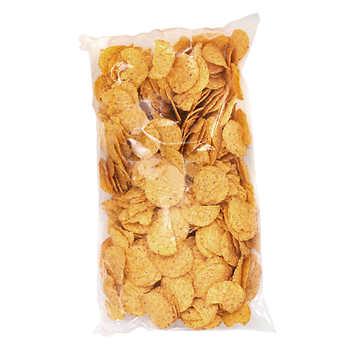 Big Screen Snax Round Nacho Chips Bags, 6 × 907 g (2 lb)
