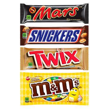Mars Chocolate Assortment, Pack of 18
