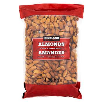 Kirkland Signature Whole Almonds, 1.36 kg (3 lb)