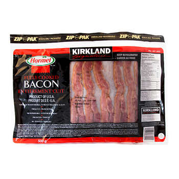 Kirkland Signature Hormel Bacon Precooked, 500g