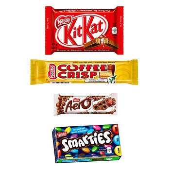 Nestlé Assorted Bars, Pack of 18