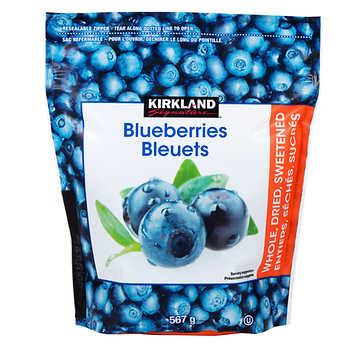 Kirkland Signature Dried Blueberries, 567 g