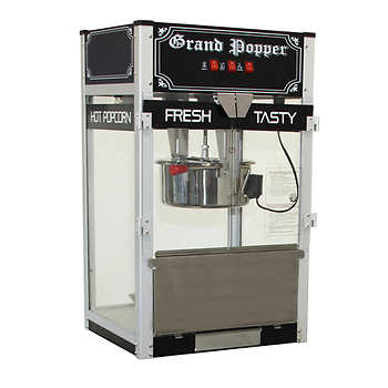 Grand Popper Commercial Countertop Popcorn Machine, 453.6 g (16 oz)