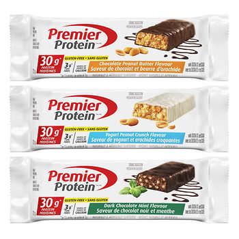 Premier Protein High-protein Bar Variety Pack, 18 × 72 g (2.5 oz)