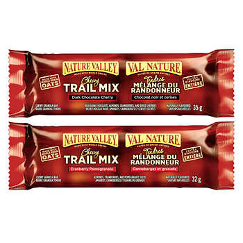 Nature Valley Trail Mix Chewy Granola Bars, 36 × 35 g (1.2 oz)