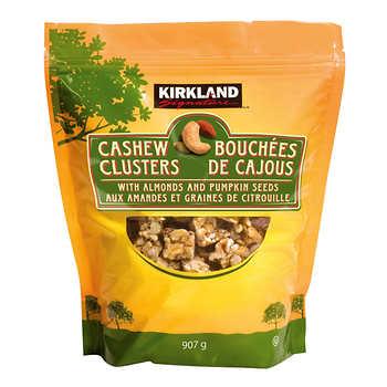 Kirkland Signature Cashew Clusters, 907 g (32 oz)