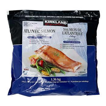 Kirkland Signature Chemical-free Atlantic Salmon, 1.36 kg