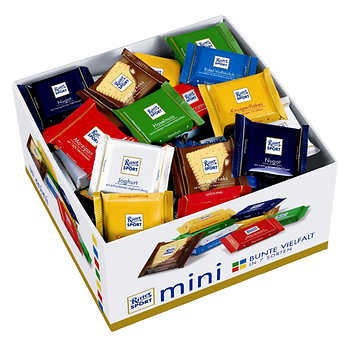 Ritter Sport Assorted Minis Box, 84 × 17 g (0.59 oz)