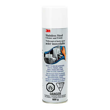 3M Stainless Steel Cleaner and Polish, 600 g (21 oz)
