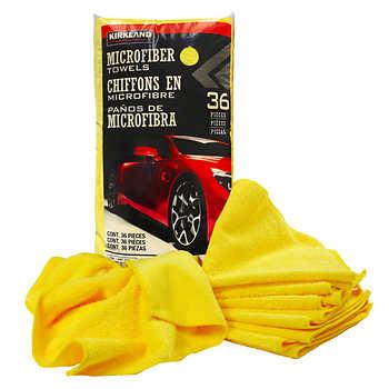 Kirkland Signature Ultra-soft Microfibre Towels, Pack of 36