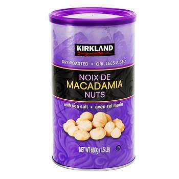 Kirkland Signature Macadamia Nuts, 680 g (24 oz)