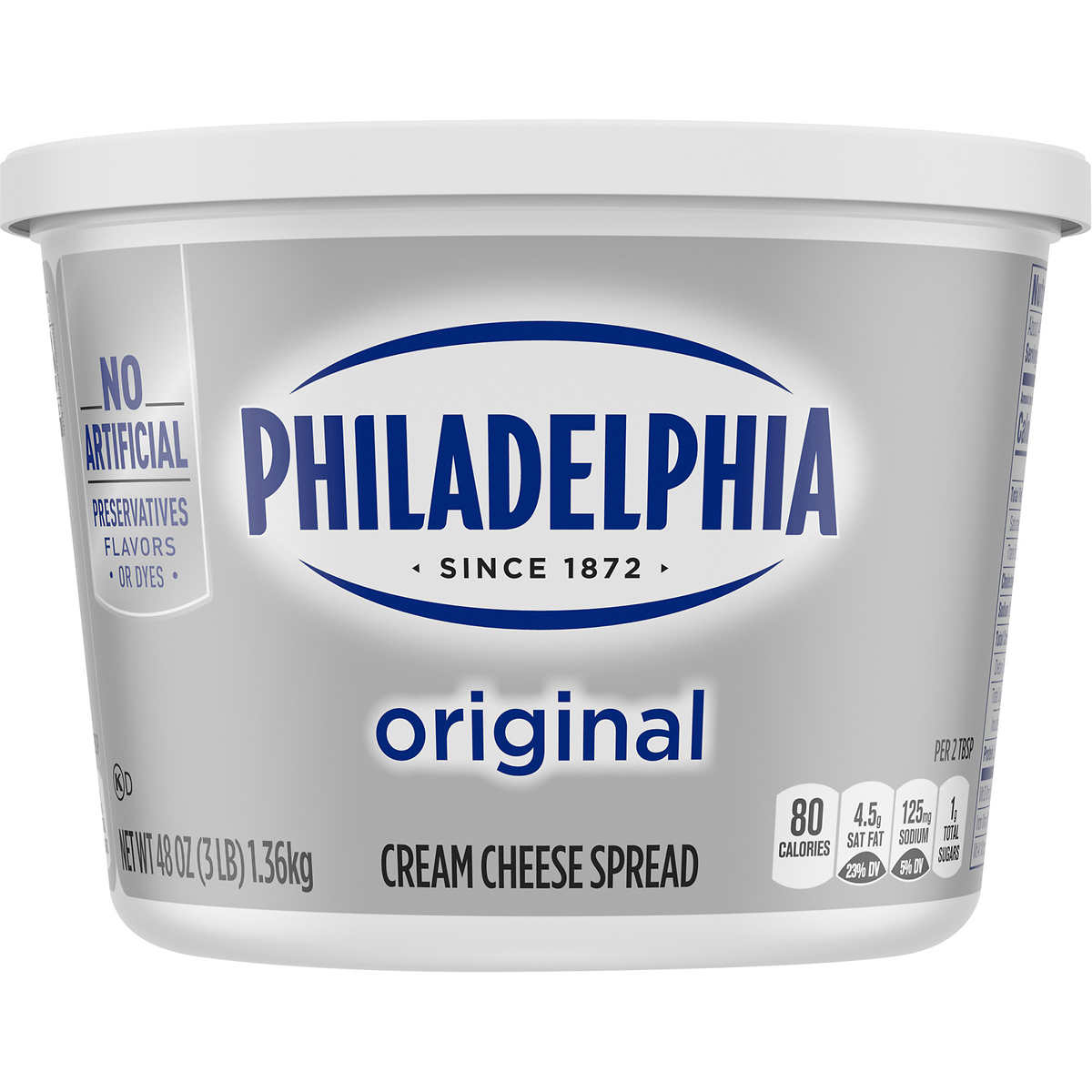 8 oz cream cheese in cups