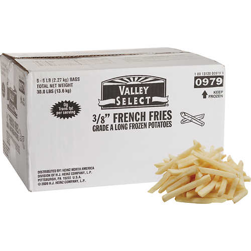 french fries br 5 lbs 6 ct 3 8 straight