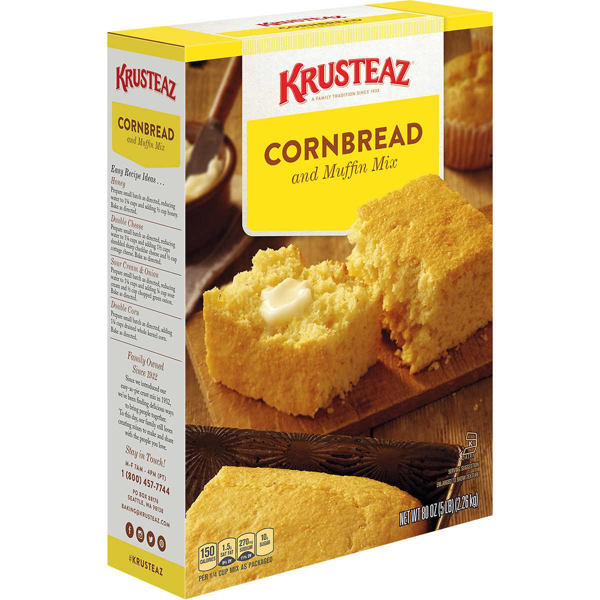 Krusteaz Cornbread And Muffin Mix 5 Lbs