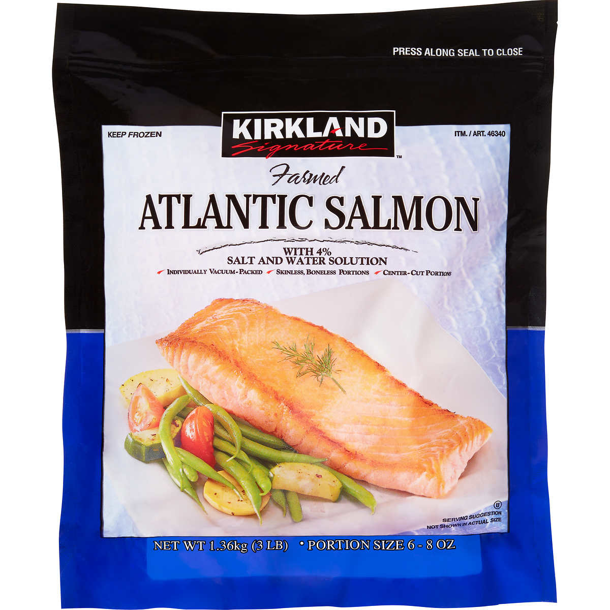 How to cook costco frozen marinated salmon howsto co for Costco frozen fish