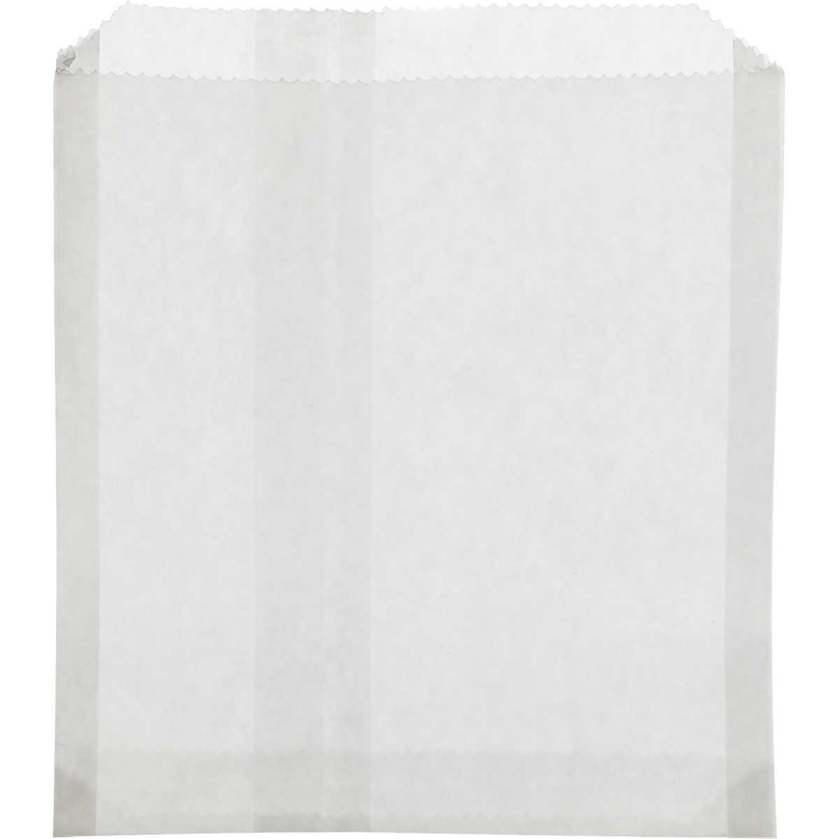 Black t shirt carryout bags 1000 ct - Bagcraft Sandwich Bag White 1000 Ct