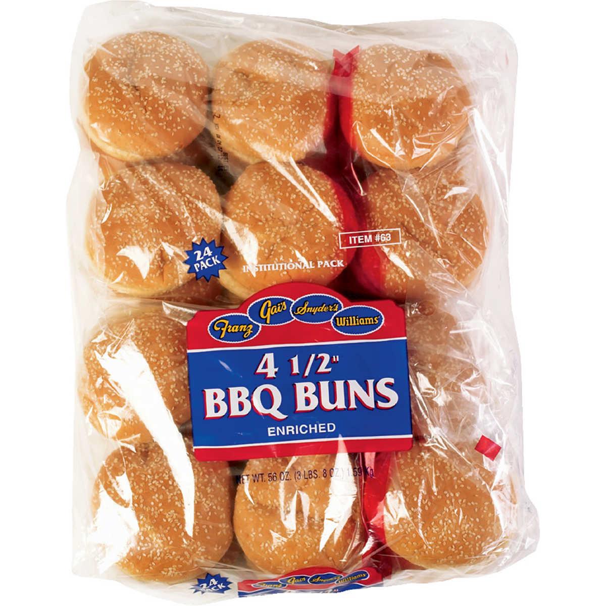 Poppy Seed Hot Dog Buns Costco