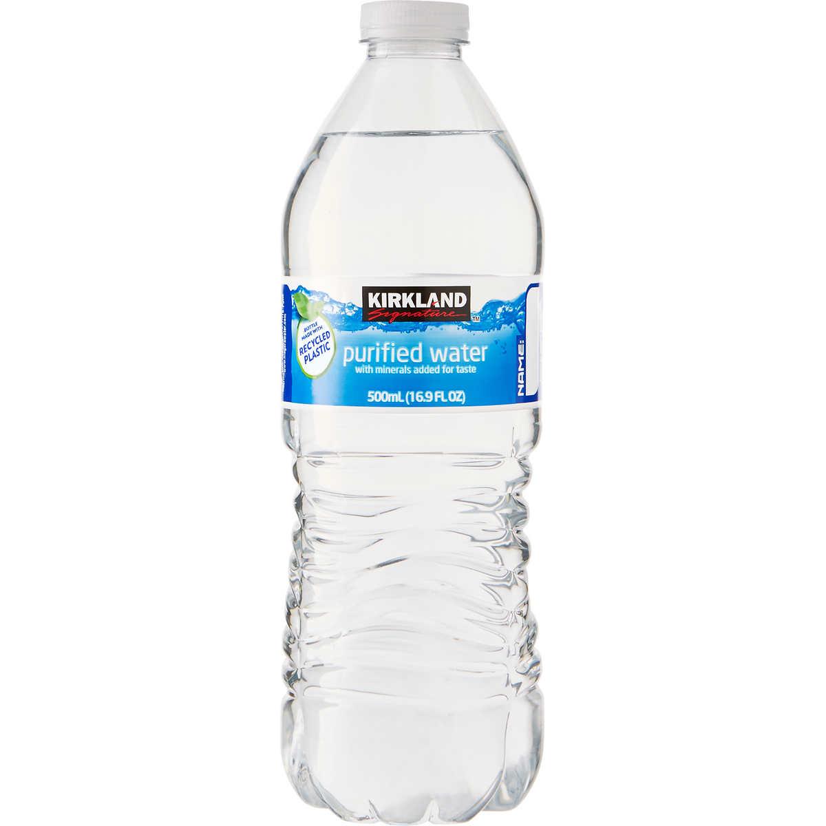 Purifying Drinking Water Kirkland Signature Purified Drinking Water 169 Oz 40 Ct