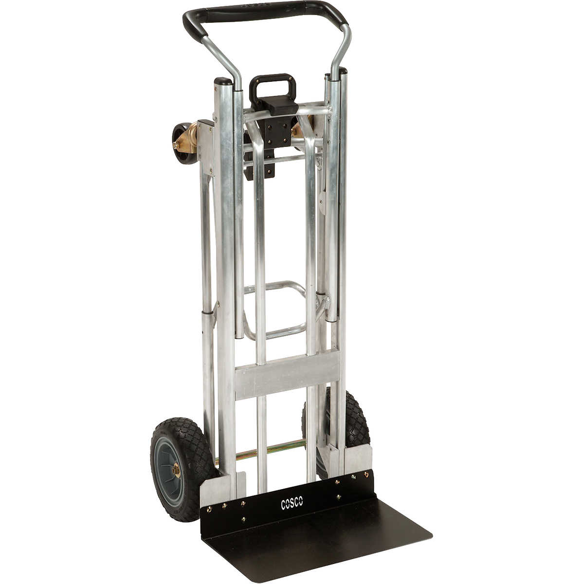Cosco hybrid 3 way convertible hand truck aluminum and steel